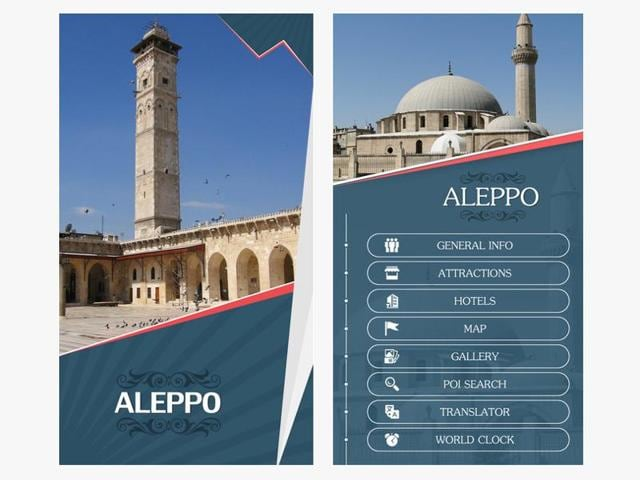 """""""Welcome to Aleppo"""" is one of more than a dozen virtual reality videos available on a mobile app launched this month by Los Angeles-based media company RYOT."""
