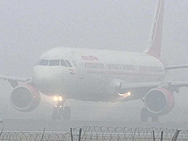 Fog in Delhi,CAT IIIB,Delhi airport