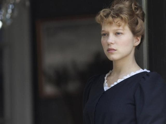 French actor Lea Seydoux in a still from Diary of a Chambermaid directed by Benoît Jacquot.