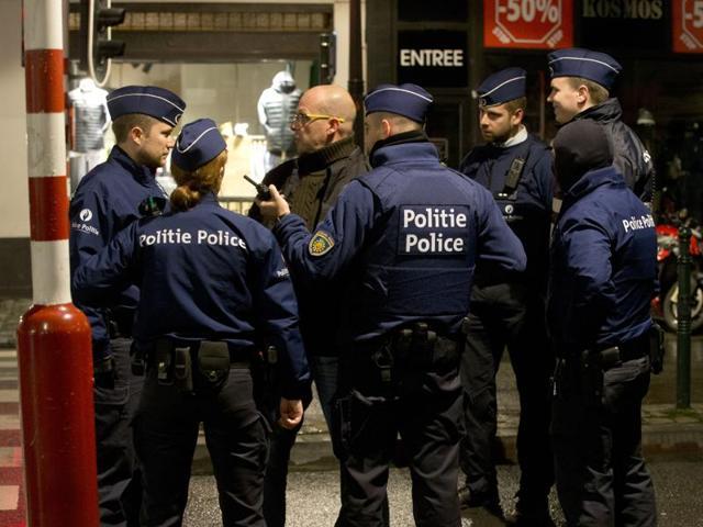 Belgium terror raids