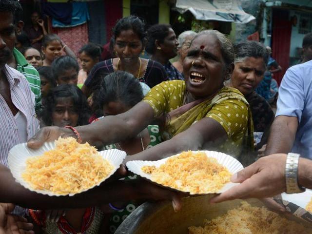 Tamil Nadu flood relief