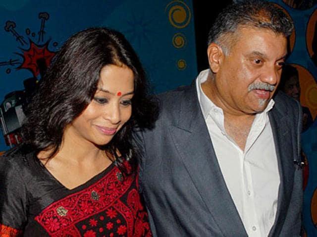 Indrani Mukerjea and her husband Peter Mukerjea.