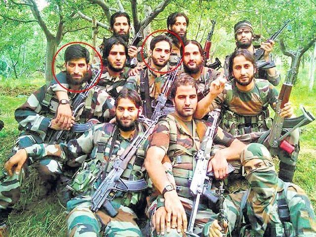 Kashmir,Srinagar,Militants