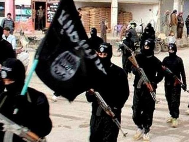 File photo of Islamic State fighters.  According to a report by foreign intelligence agencies, IS considers South Asians, including Indians, inferior to Arab fighters.