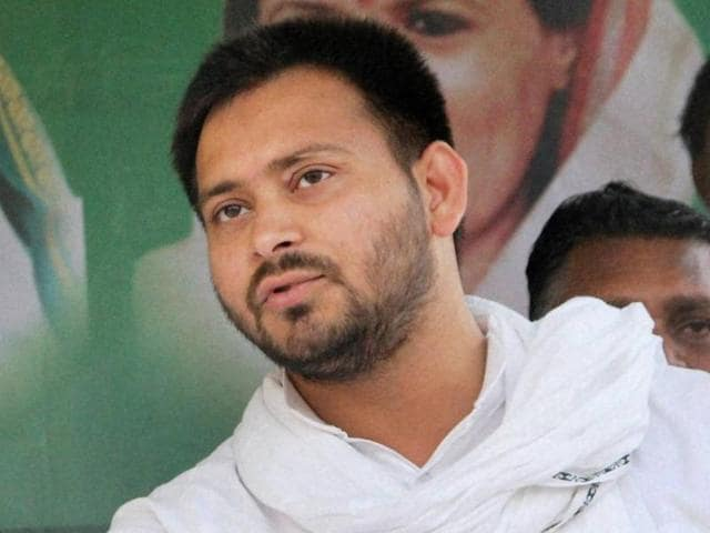Bihar deputy chief minister Tejashwi Yadav