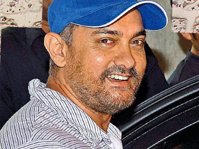 Aamir had issued a statement during the Ramnath Goenka Excellence in Journalism Awards in New Delhi on Tuesday(HT FILE PHOTO)