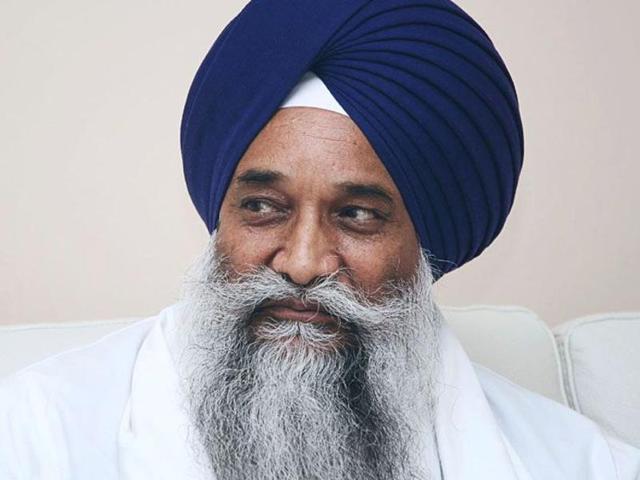 Akal Takht Jathedar Giani Gurbachan Singh.