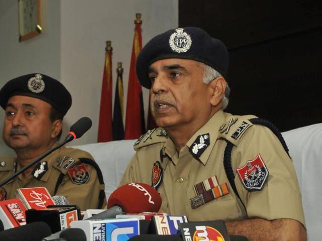 Punjab DGP Suresh Arora .