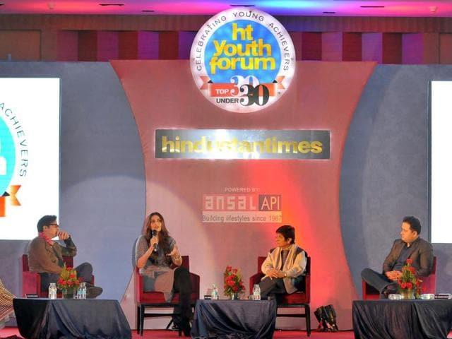 HT Youth Forum,Milkha Singh,Jimmy Shergill