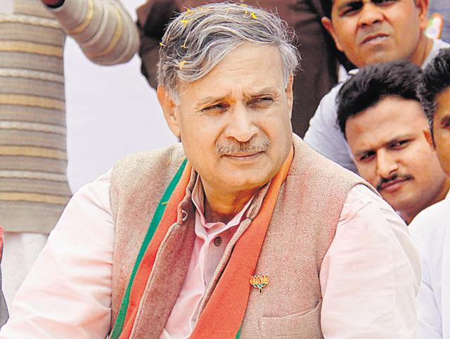 Union minister of state for planning and defence Rao Inderjit Singh.