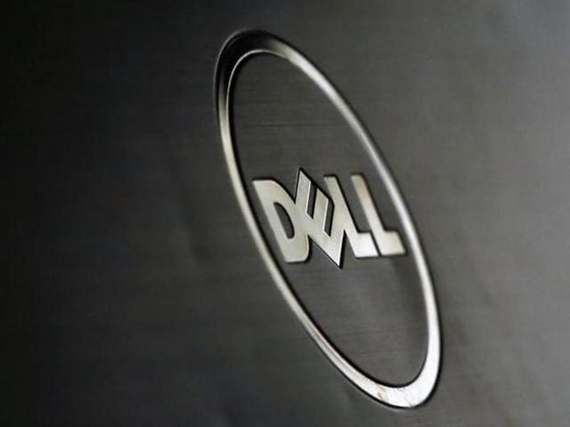 A Dell logo is seen in this illustration picture taken in Sarajevo, Bosnia and Herzegovina.