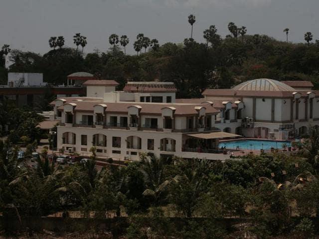 Shiv Sena minister Ravindra Waikar is the trustee of the Matoshree Art and Sports Club in Jogeshwari.