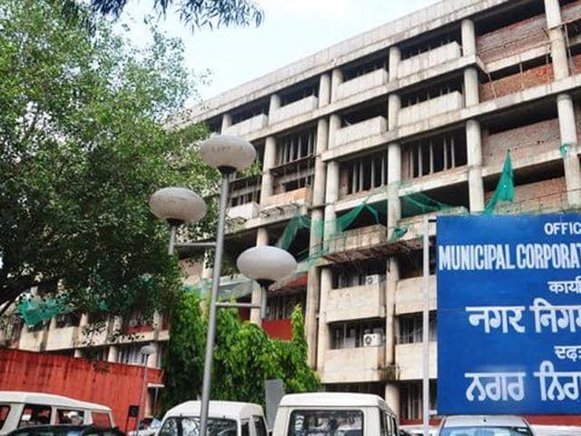 Municipal corporation office, Chandigarh.
