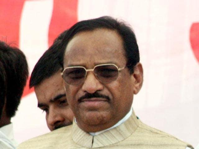 File photo of Ratlam-Jhabua parliamentry Congress candidate Kantilal Bhuria