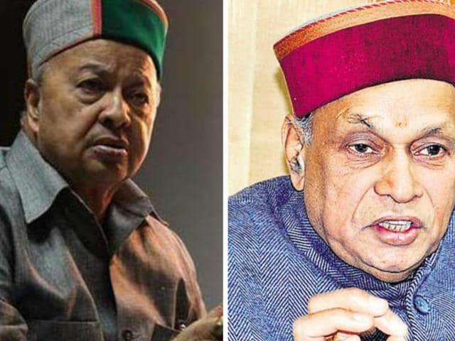 Arch-rivals,Virbhadra Singh,Prem Kumar Dhumal