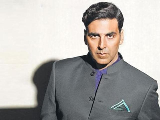 Film actor Akshay Kumar.