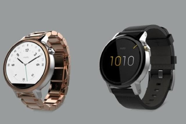 The Moto 360 is a water and dust-resistant device, which supports wireless charging, can automatically adjust to the surrounding brightness using its ambient light sensor and also comes with an optical heart rate monitor.