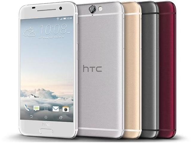 Is that an iPhone? Nope. That's the HTC One A9. Who would have thought?