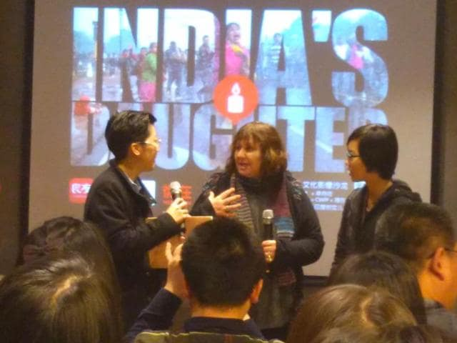 Ten screenings of Leslee Udwin's documentary 'India's Daughter' were held in Beijing, Guangzhou, Hong Kong and Shenzhen in the past few weeks.