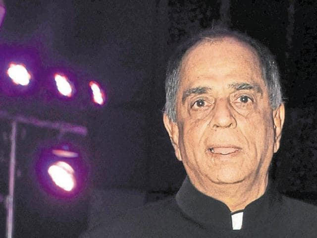 Bollywood film producer and Censor Board chairperson Pahlaj Nihalani in a file photo.