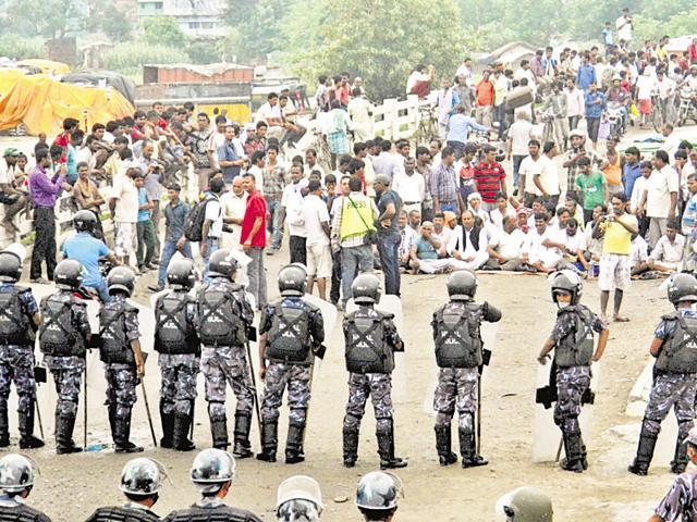 Indo-Nepal border,SSB,Firing