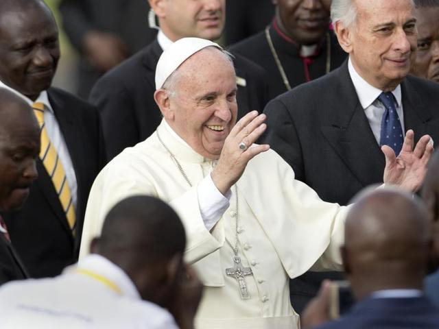 Pope Francis,Africa,Muslim-Christian strife