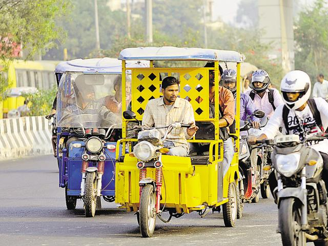 Only e-rickshaw models approved by the state government will be granted permits.
