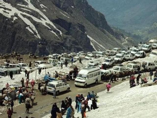 The NGT had banned commercial activities at Rohtang Pass  earlier this year.