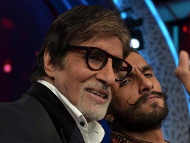 Amitabh Bachchan,Ranveer Singh,Bajirao Mastani