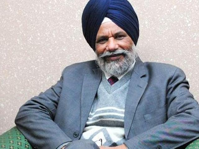 Punjab's higher education minister Surjit Singh Rakhra
