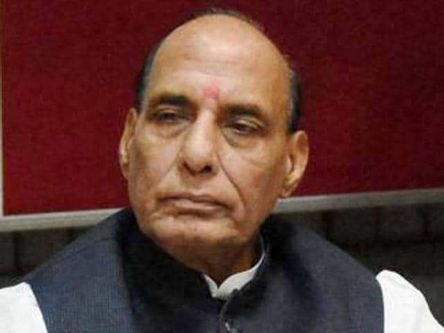 Rajnath in Parliament