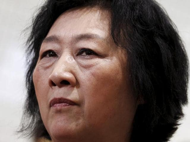 File photo of Gao Yu, one of China's most prominent journalists.