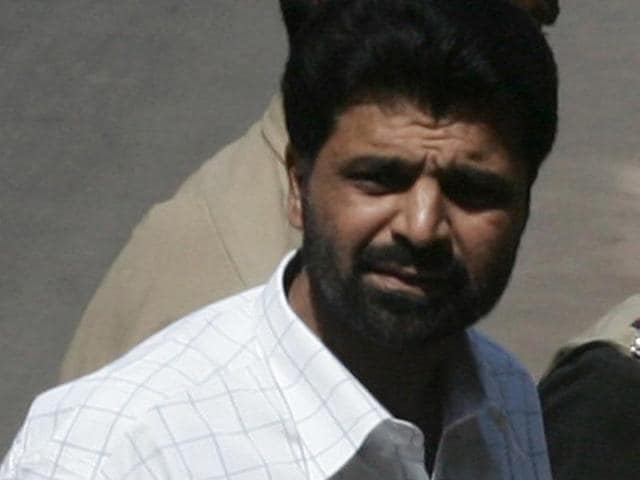 File photo of Yakub Memon, the 1993 Mumbai serial bomb blasts convict, at a TADA court.Kunal Patil/HT file photo)