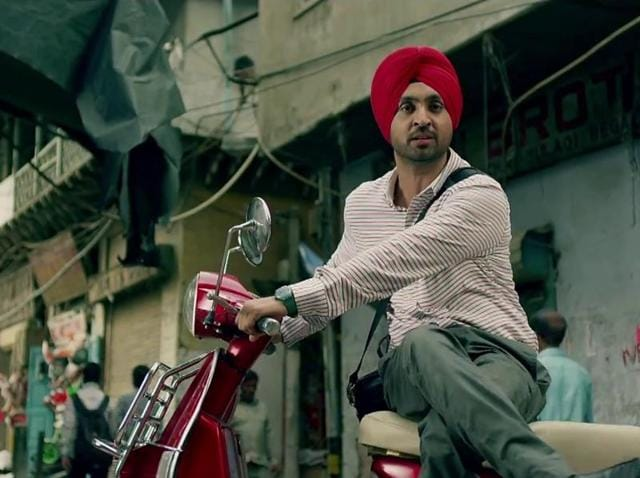 Diljit Dosanjh in a still from Mukhtiar Chadha.