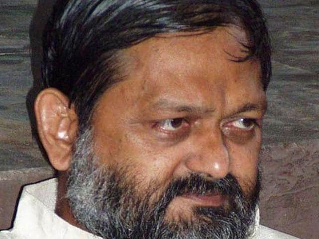 "Haryana health minister Anil Vij told Fatehabad superintendent of police (SP) Sangeeta Kalia to ""get out"" from the venue of the meeting."