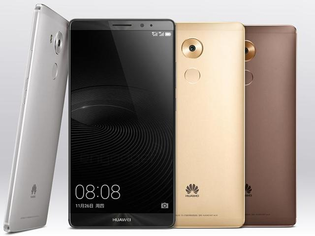 The Huawei Mate 8 will not be available until 2016.