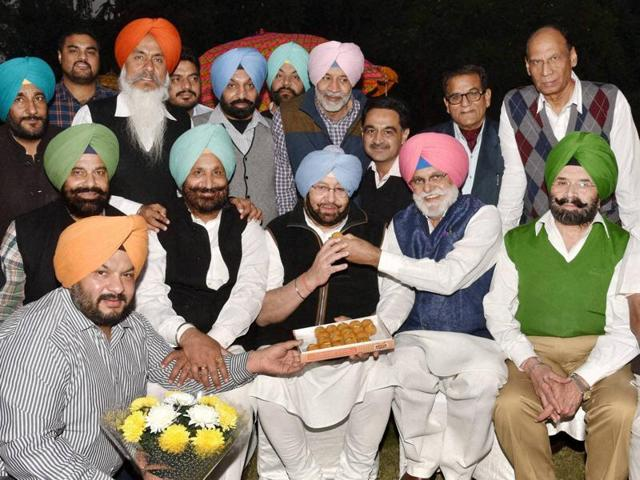 Partap Singh Bajwa,Sonia Gandhi,Capt Amarinder Singh