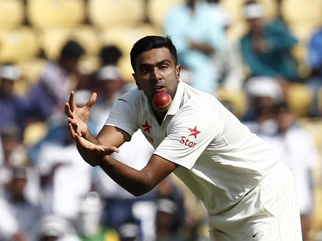 Indian Cricket team player Ravichandran Ashwin and Captain Virat Kohli celebrate during 2nd Test match between India and South Africa.