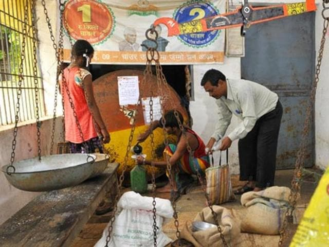 Jharkhand rolled out the ambitious NFSA in haste from October 1 this year, entitling more than 2.33 crore people of the state's total 3.29 crore population to 5 kg rice and wheat every month at the subsidised rate of Re 1. Photo for representative purpose.