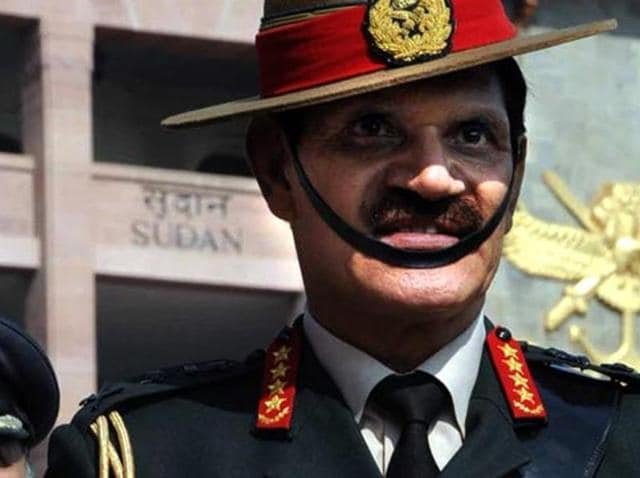 File photo of army chief General Dalbir Singh, in Pune.