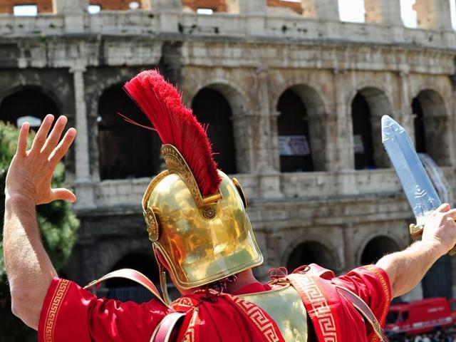 Centurions,Francesco Paolo Tronca.,Colosseum of Rome