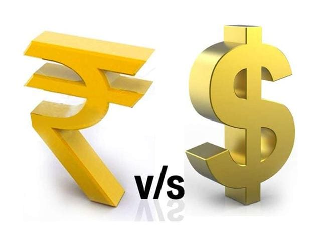 The rupee tumbled by 19 paise to end at more than two-year low of 66.76 against the US dollar on month-end demand for the American currency from importers and some banks.