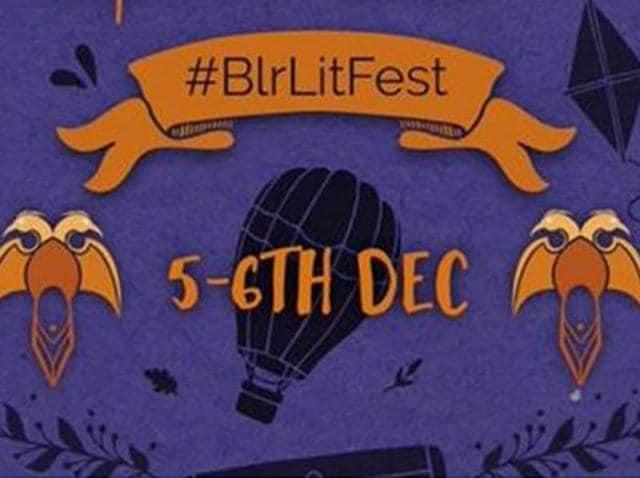 Screengrab of Bengaluru literature festival logo.