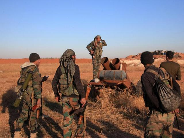 Islamic State,Anti-IS coalition,Those fighting in Syria