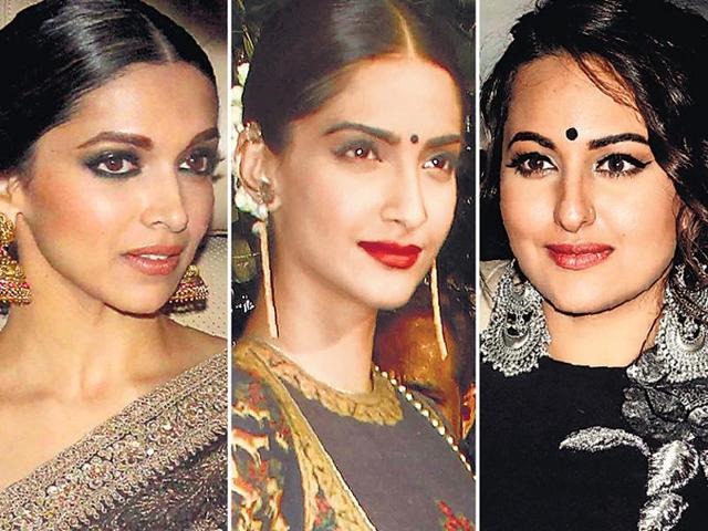 Statement jewellery and bindis are huge on the fashion blocks this wedding season.