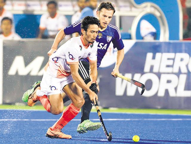 Argentina did not give the Indians any space in the final third and the hosts failed to create scoring opportunities.