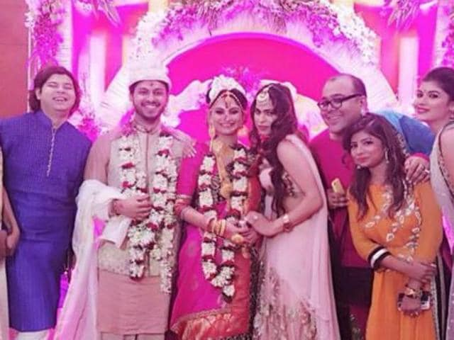 Dimpy and Rohit got married at a hotel in Kolkata on Friday.