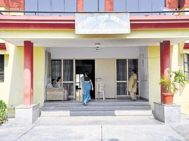 Nari Niketan, a government-run shelter home for women, in Dehradun.