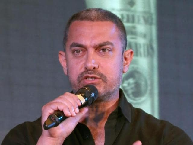 Aamir Khan recently complained of