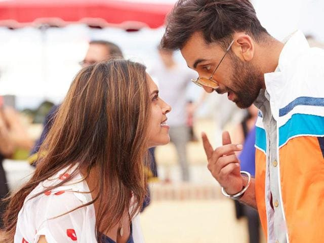 A still from Deepika Padukone and Ranbir Kapoor-starrer Tamasha which earned Rs 10.8 crore on day 1.